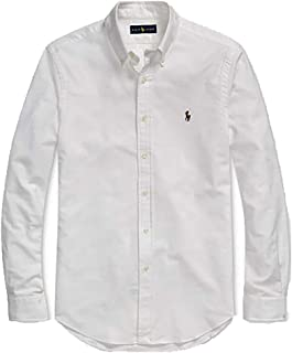 Polo Ralph Lauren Mens Classic Fit Oxford Longsleeve...