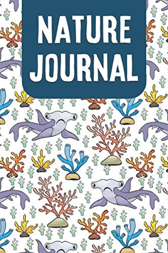 Nature Journal: Hammerhead Shark Design Sketch and Lined Pages Nature Journal for Kids