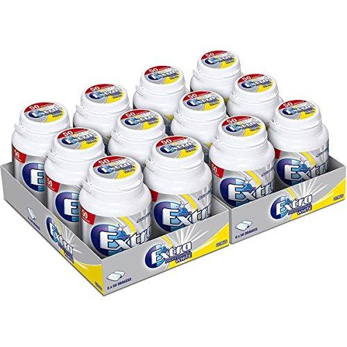 Wrigley's Kaugummi Extra Professional White Citrus mit 50 Dragees, 12er Set (12 x 50 Dragees)