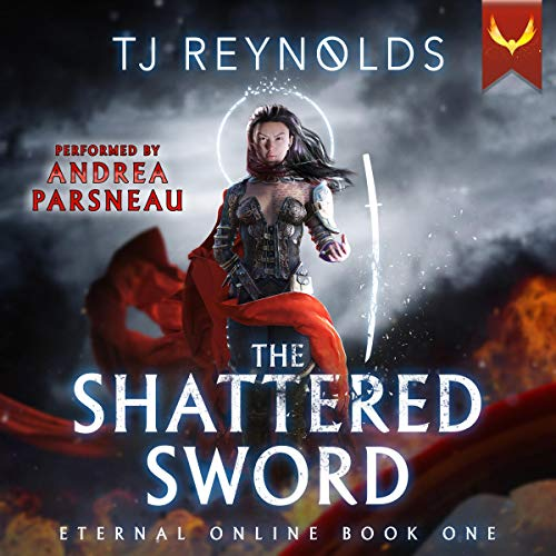 Shattered Sword (A LitRPG Adventure) audiobook cover art