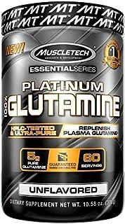 Muscletech Platinium Essential Series Glutamine, 302 G