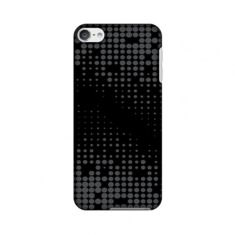 AMZER Slim Designer Snap On Hard Shell Case Back Cover with Screen Care Kit for iPod Touch 6th Gen - Carbon Fibre Redux 13