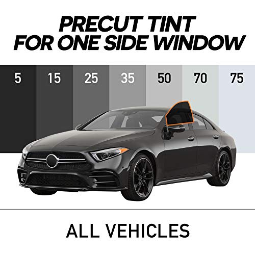 MotoShield Pro - Premium Precut Ceramic Window Tint for Cars,Coupes (Superior Heat Control/Blocks 99% UV) 2mil - All Sides + Rear Window