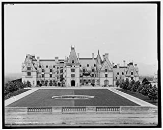 Photo: Biltmore House,estates,mansions,gardens,Asheville,North Carolina,NC,c1902