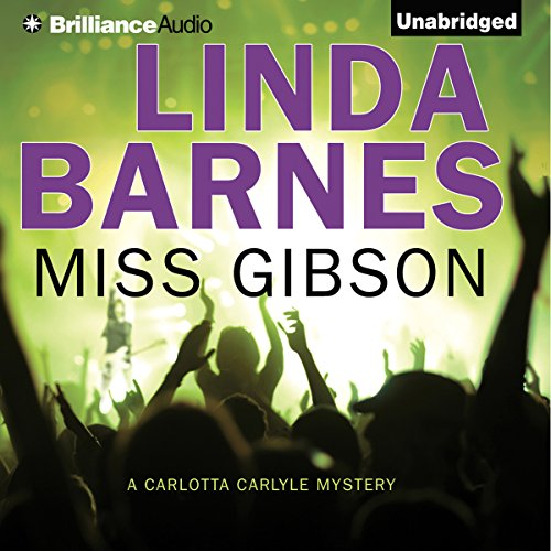 Miss Gibson audiobook cover art
