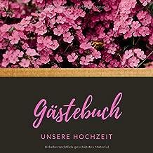 Unsere Hochzeit Gästebuch Blanko Notizbuch Gästebuch Für