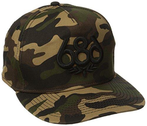 686 Herren Icon Snap Back Hat Hunter Camo Verstellbar