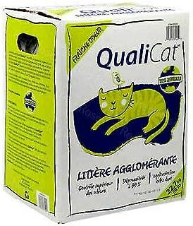 Qualicat Scoopable Cat Litter 22.7 Kg, 22.7 Kilogram