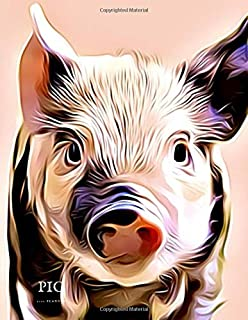 2020 Planner - Daily and Monthly Planners: The Perfect Gift - 2020 Planner for Pig Lovers. Men, Women and Kids Love These Diaries (2020 Planners)