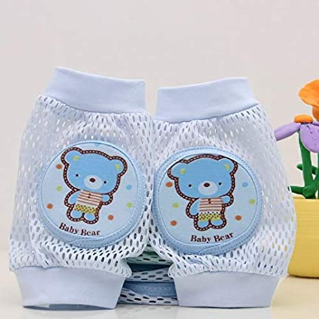 Kongqiabona-UK Baby Knee Pads Protective Case Cute Cartoon Monkey Baby Knee Pads Elbow Guard Kids Learn To Walk Resistant Crawling Protective Gear