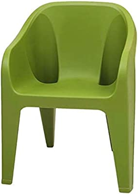 National plastic Moulded Green Chair with Heavy Duty Structure Set (6)