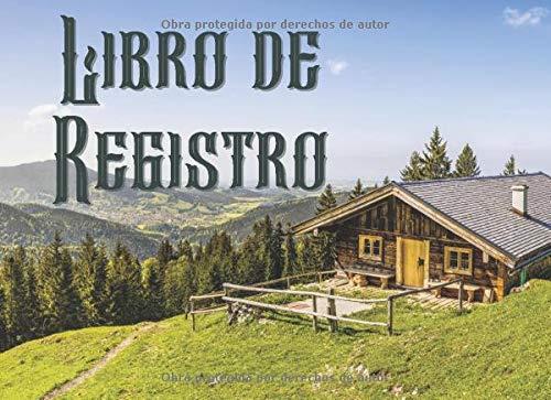Libro de Registro: Libro de visitas para los visitantes   Para el alquiler de casas de vacaciones, Hotel, Restaurante, Casa rural, AirBnB, Propiedades ... de Huéspedes   Bonito regalo de cumpleaños