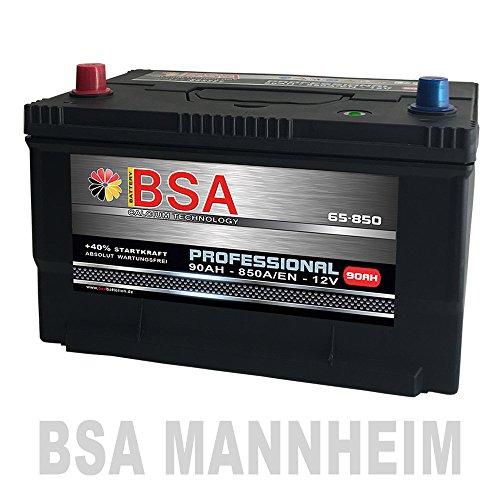 Preisvergleich Produktbild US Autobatterie 90Ah 850A / EN USA Batterie 65-850 statt 80Ah 85Ah