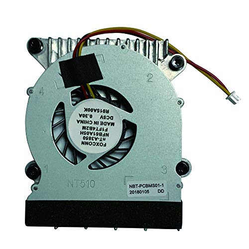 Replacement 3 Pins CPU Cooling Fan with Heatsink for Foxconn NT330 NT330i NT510 NT-510 NT410 NT425 NT435 NT535 NT-A3700 Series Laptop NFB61A05H
