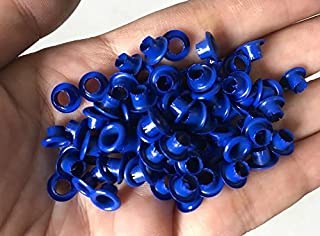 "150pcs 4mm 5/32"" Royal Blue Round Eyelets Scrapbooking Craft Grommet Cut E053"