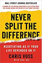 May 17, 2016 : Never Split the Difference (Negotiating As If Your Life Depended On It) [Hardback] Hardcover Comic