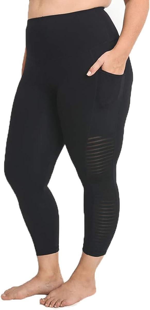 Marsha Portland Mall List price Active Leggings- 1XLARGE Plus Black