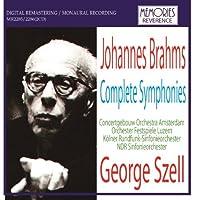 Brahms Symphony No.1 (Lucerne Festival Orchestra/ George Szell. Rec. 'Live' 8/62) / Symphony No.2 by VARIOUS ARTISTS