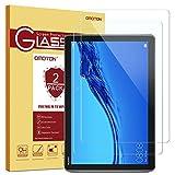 OMOTON (2 Pièces Huawei MediaPad T5 10 Verre Trempé, Protection D'écran de 9H Dureté et Ultra Résistant pour Huawei MediaPad T5 10 Pouces