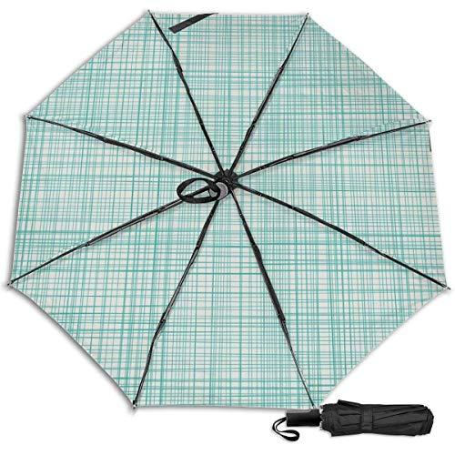 Textura Decoración Diseño Impresión Sun Rain Manual Tri-fold Umbrella