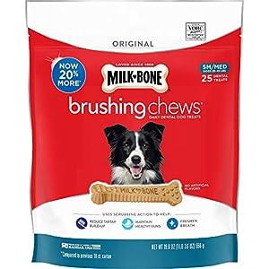 Milk-Bone Original Brushing Chews Daily Dental Dog Treats