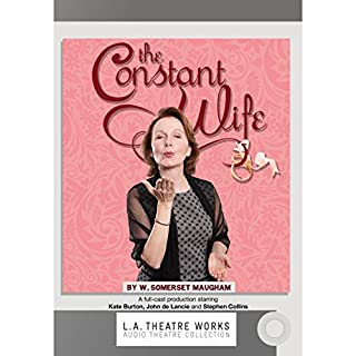 The Constant Wife audiobook cover art