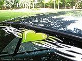East Coast Vinyl Werkz - Lime Green - Tribal Heart windshield decal