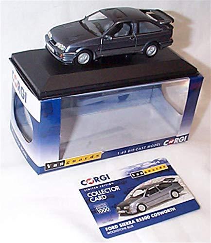 corgi vanguards ford sierra RS500 cosworth moonstone blue car 1:43 scale diecast model