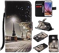 Lomogo Galaxy S6 / docomo SC-05G ケース 手帳型 耐衝撃 PU レザーケース 財布型 カードポケット スタンド機能 マグネット式 ギャラクシーS6手帳型ケース カバー 人気 - LOKTU20263 #3