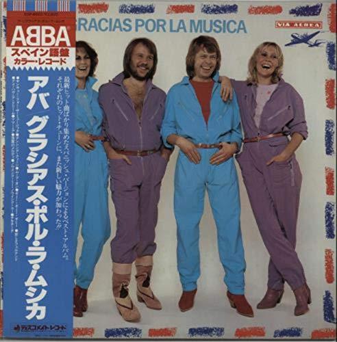 Abba - Gracias Por La Musica - Japanese Import - Red Vinyl
