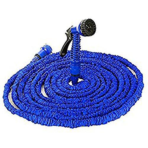 100FT/150FT/200FT Magic Stretch Gartenschlauch flexibel erweiterbar 3x erweiterbar natur Triple Layer Licht Gewicht nicht geknickt mit 7, professionelle Wasser Spray Düse - 30,5 m