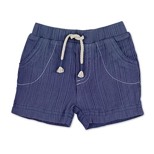 Sterntaler Jungen Kurze Hose, Alter: 9-12 Monate, Größe: 80, Blau