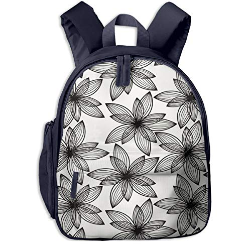 Kinderrucksack Bio Endal Blooming Floral Babyrucksack Süßer Schultasche für Kinder 2-5 Jahre