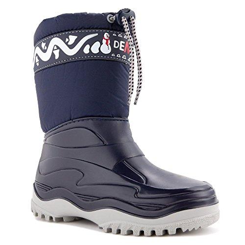demar. Kinder Winterstiefel Schuhe gefüttert Frost (30/31, blau)