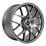 Enkei RAIJIN (18 x 8, 5 x 112) 45mm Offset, Titanium Gray, (1) Wheel/Rim
