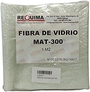 Fibra de Vidrio MAT-300 (densidad 300gr/m2) 1m2 para