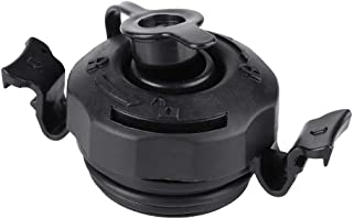 Tbest Replacement Universal Air Valve, 3 in 1 Air Valve Secure Seal Cap for Inflatable Airbed Mattress (Black)