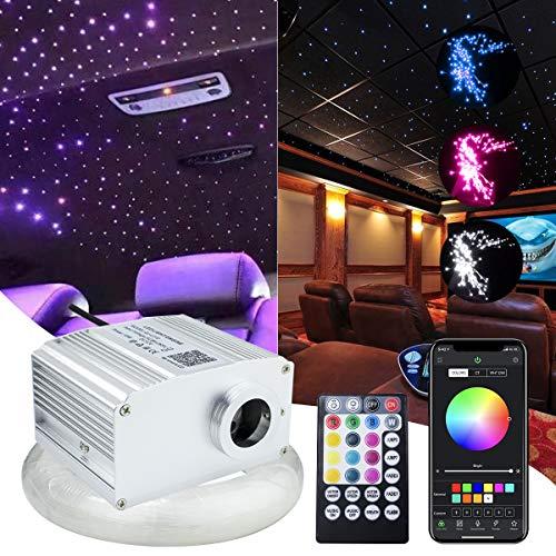10W APP Controlled Car Use Fiber Optic Light Star Ceiling Kit Twinkle,...