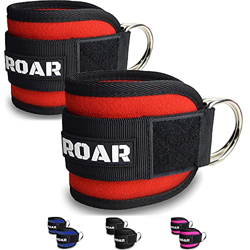 Roar Tobilleras (Rojo)