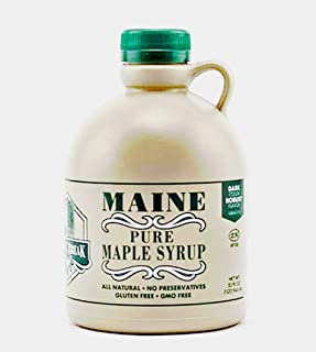 Spring Break Pure Maine Maple Syrup 32 oz. Medium Amber