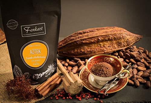 Trinkschokolade Aztek Tonka & Vanille 200g | Kakao Natur aus kräftigem Edelkakao aus Panama | EdelKakaogehalt 70% | Vom Bodensee aus Vorarlberg