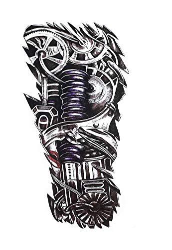 Roboterarm Tattoo Oberarm Fake Tattoo Aufkleber HB305