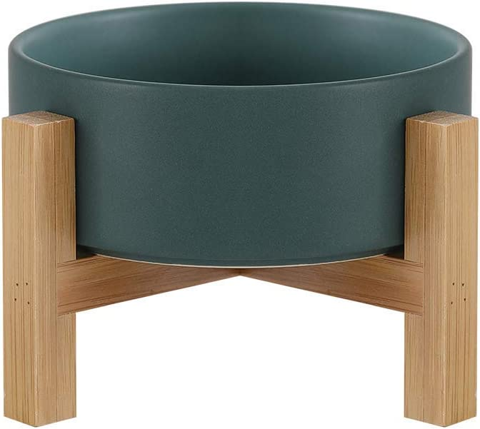 Ceramic Elevated Product Raised Cat Bowls - Stand Elegant with Dish Food D