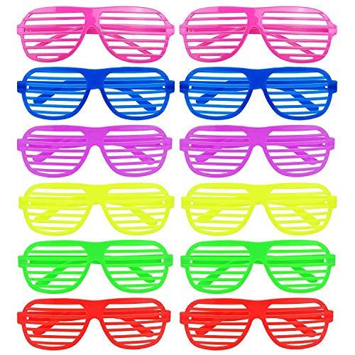 Anjing 12 Paar Sonnenbrillen, 6 Farben