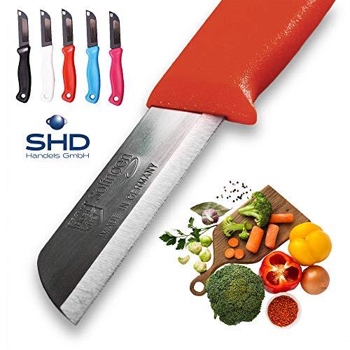 Solingen 5 x Messer Orig Made in Germany Allzweckmesser Obstmesser Gemüsemesser Tafelmesser - Sehr scharf/langlebig/aus rostfreiem Edelstahl