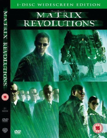 The Matrix Revolutions by Keanu Reeves