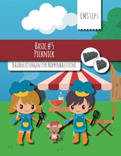 EMSteps #05 Picknick: Bauanleitungen für Noppenbausteine (EMSteps Basic, Band 5)