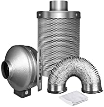 iPower 8 Inch 750 CFM Duct Inline Fan with 8