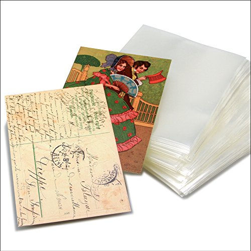 SAFE 9248 100 Postkarten-Hüllen für alte Postkarten