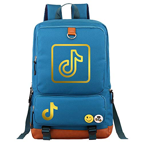 Camping Backpack Youth Travel Multifunctional Backpack Large Capacity Food Backpack 45cm * 30cm * 15cm Blue